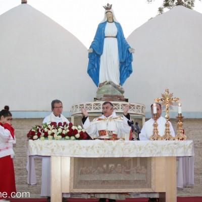 احتفالية عيد انتقال السيدة العذراء مريم بالنفس و الجسد الى