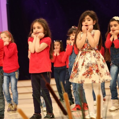 احتفالية طلبة التعليم المسيحي بمناسبة عيد الام
